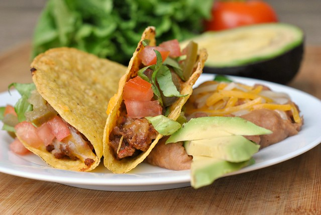 Baked Crunchy Tacos 1