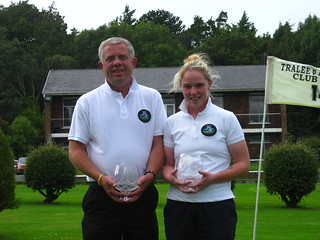 Tony Blake and Lisa O'Connor Munster Mixed Foursomes Winner