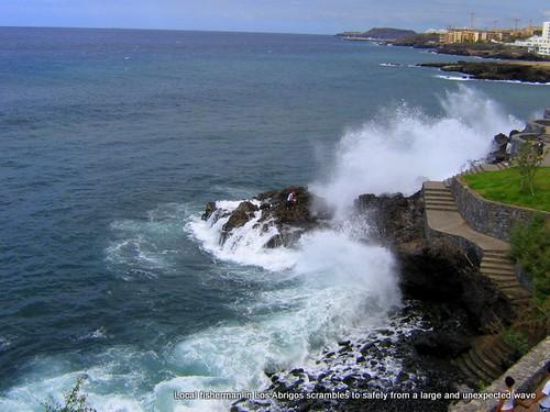Rough seas at Los Abrigos