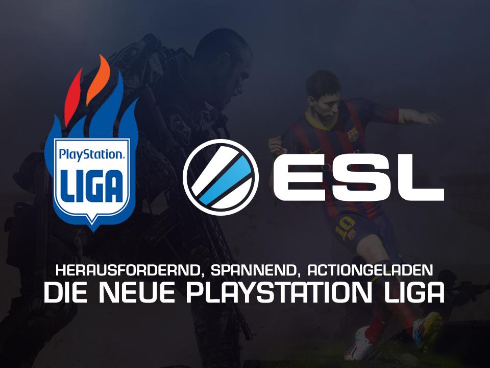 ESL und PlayStation Liga