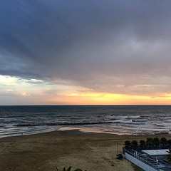 #visioni #mare #spiaggia #tramonto #foto #cielo