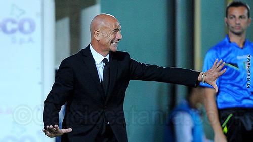 Beppe Sannino, allenatore del Catania