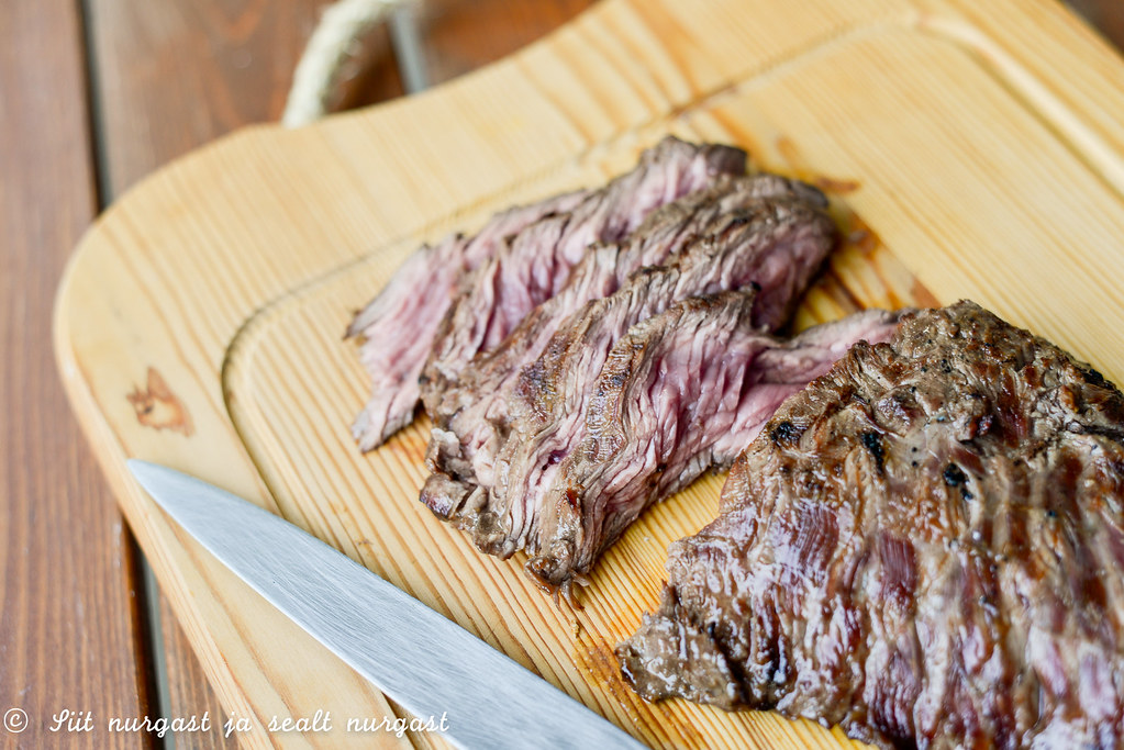 bavette (flank steak)