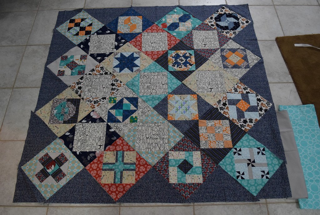Millstone Quilt Final Layout
