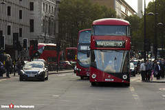 Wrightbus NBFL - LTZ 1168 - LT168 - London United - Kings Cross London - 140926 - Steven Gray - IMG_0394
