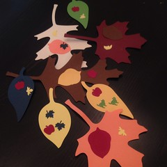 Autumn #leaves. I forgot I needed another set this fall!  Oops.