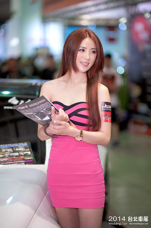 2014台北車展 show girl,39