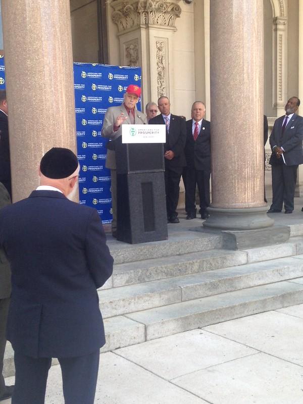 Martin speaking at NJ Capital