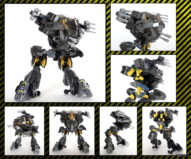 Raptor Mk.I. - mecha (44022 alternative model)