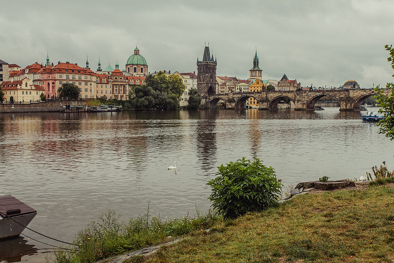 Prague Old Town, View from Mala Strana