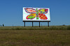 """1969 Pat Dypold """"Butterfly & Bottle"""" 7Up UnCola billboard photo recreation (just before Woodstock)"""