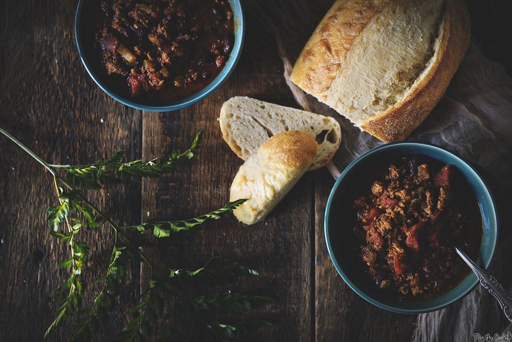 Slow Cooker Turkey Chili    GirlCarnivore.com