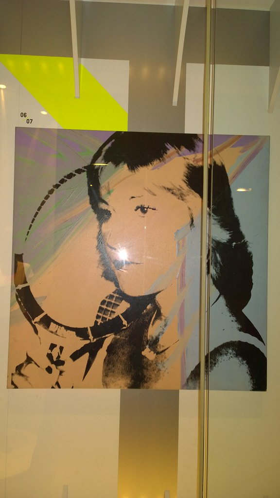 Chris Evert by Andy Warhol