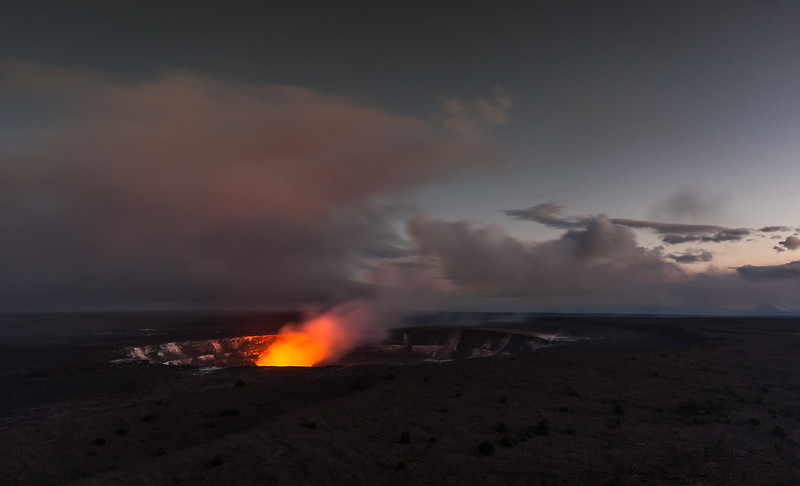 The Lava Glow, Kilauea, Hawaii