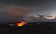 The Lava Glow, Kilauea, Hawaii