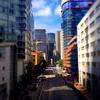 Looking down the street #sanfrancisco #tiltshift