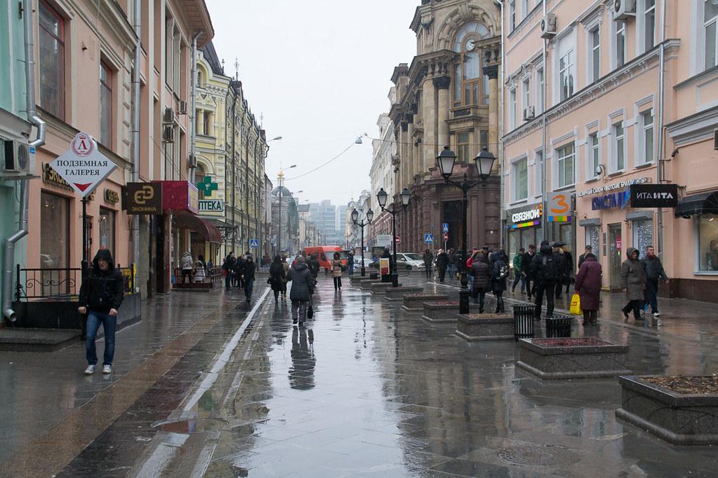 Nikolskaya Street in Moscow