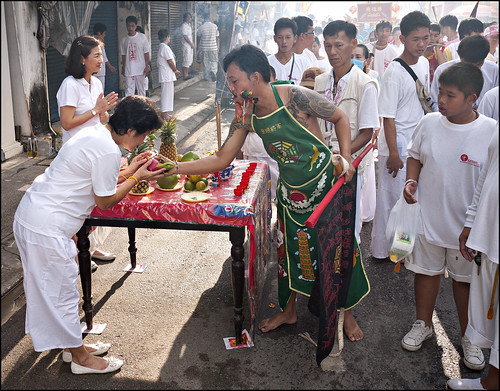 the vegetarian festival is over for some other yr BangkokMap: The <a href=
