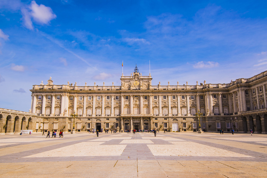 The Royal Palace of Madrid Spain