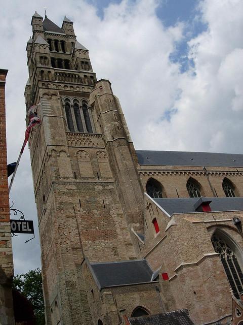 Cathédrale Saint-Sauveur à Bruges