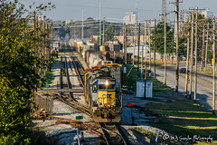 CSX 8320 | EMD SD40-2 | CSX Leewood Yard