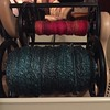 I told myself I couldn't spin anything new until I finished my plying projects. Then I told myself I was being too hard on myself. In the end, I plied until I couldn't stand it anymore then started something new.