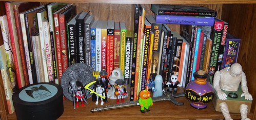 Bookshelf Spooky