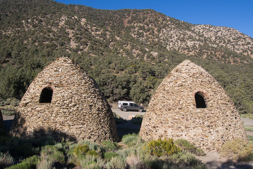 Charcoal Kilns and Four Wheel Camper