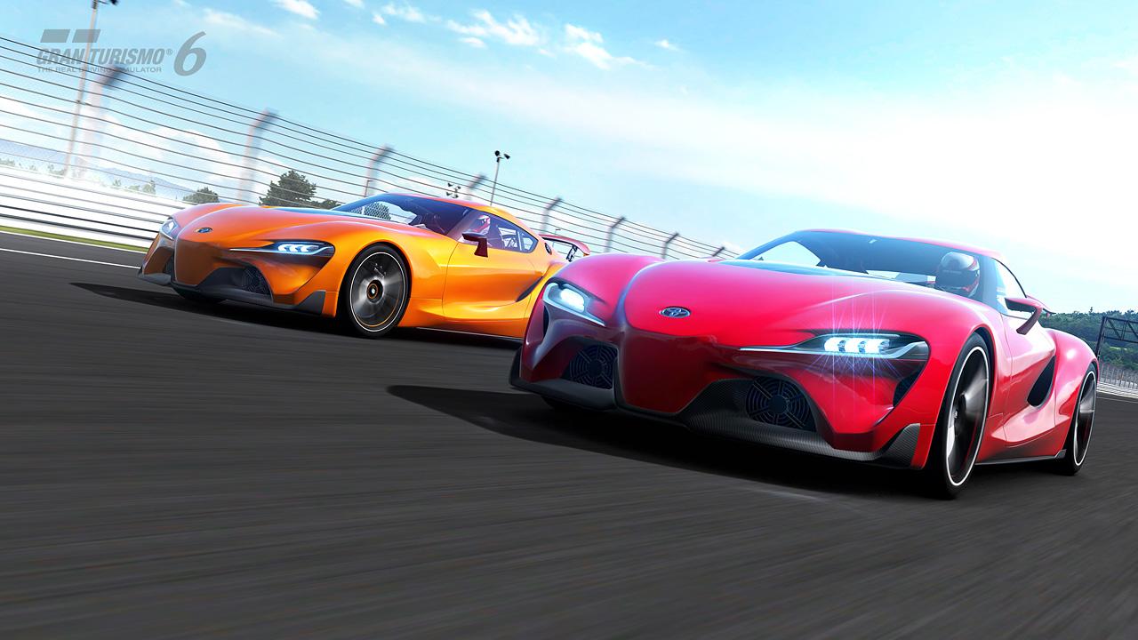 Gran Turismo 6 - Evénement Saisonnier Toyota FT-1 Concept Coupé