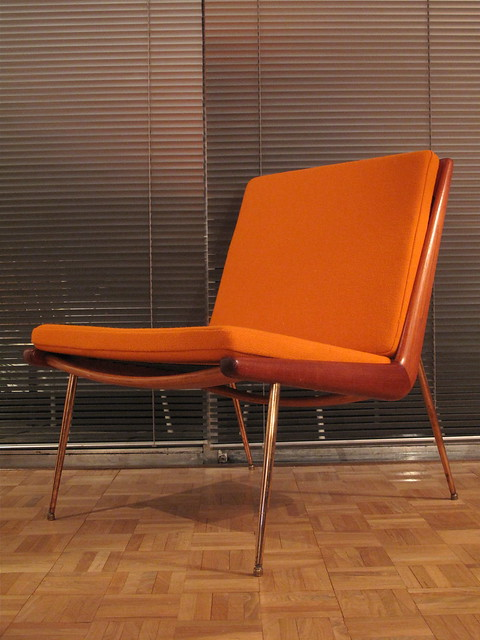 Peter Hvidt Boomerang Chair