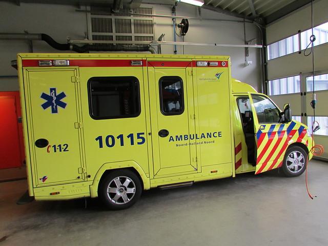 Oude ambulance Texel