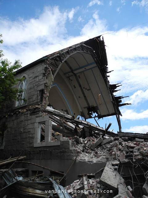 Eglise Notre-Dame-de-la-Paix demolition 6/06/14 23