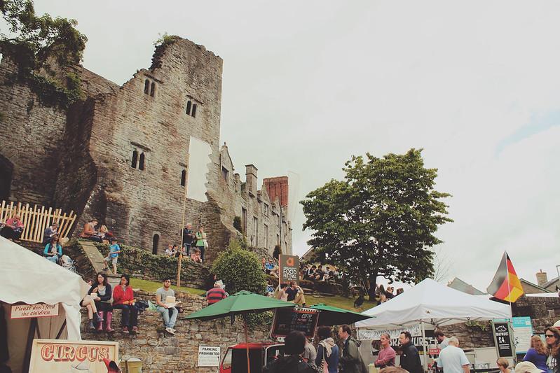 Hay Festival Castle