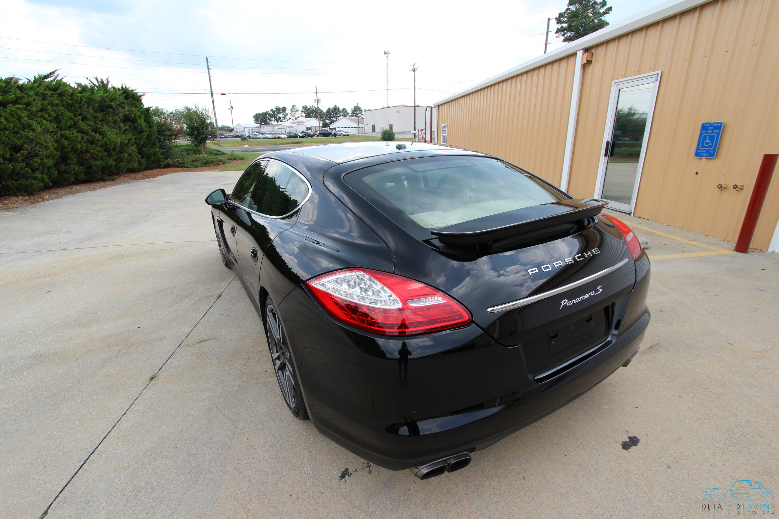 Car Painting Atlanta Of Porsche Restored Then Protected With Ppf Cquartz Finest