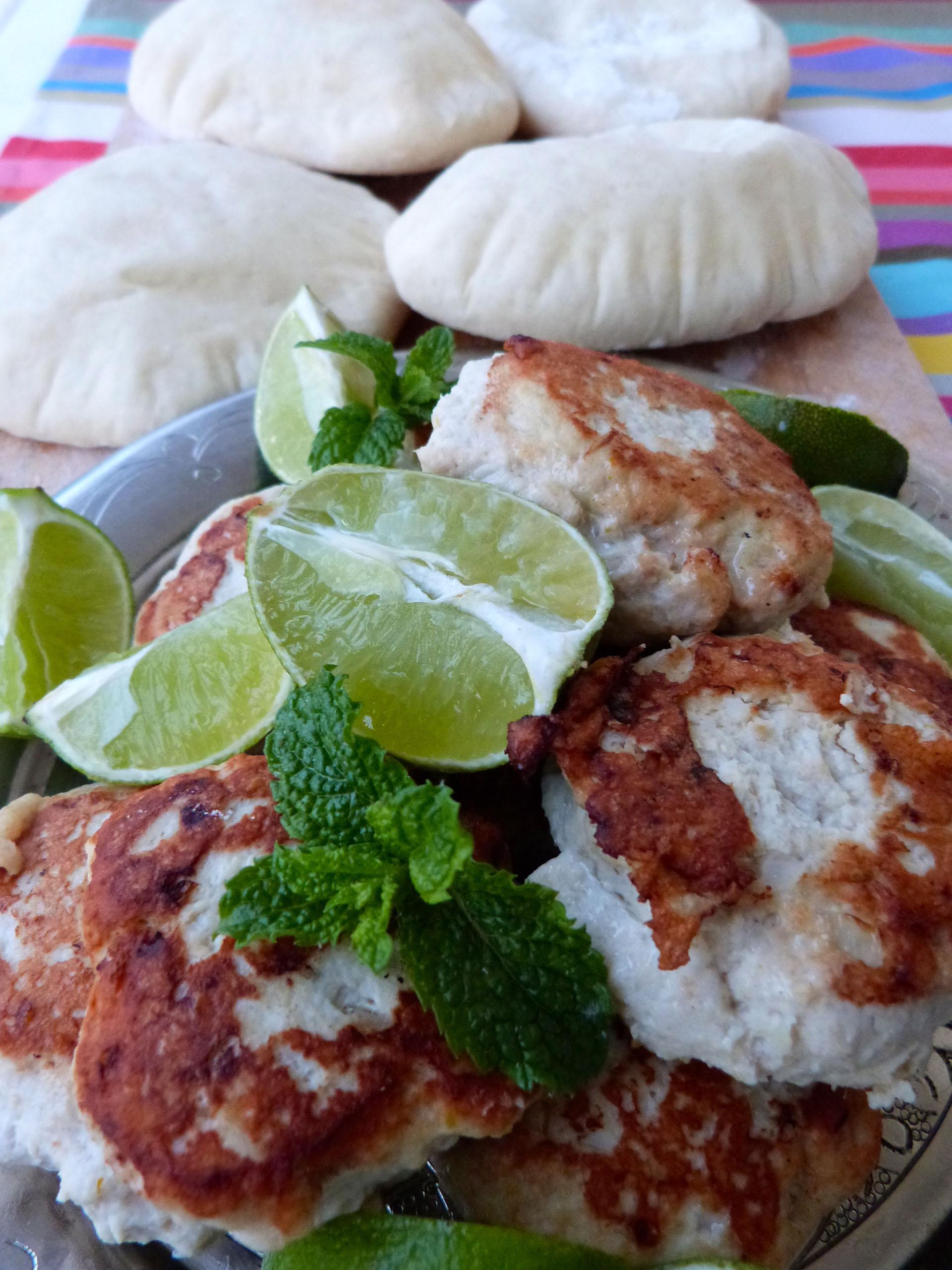 boulettes de poulet thaï