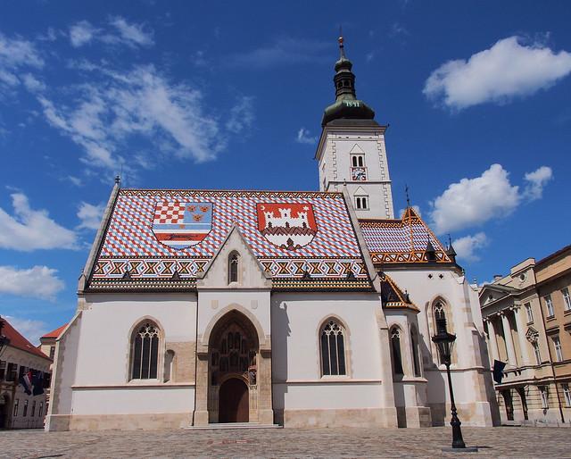 很卡通的聖馬可教堂