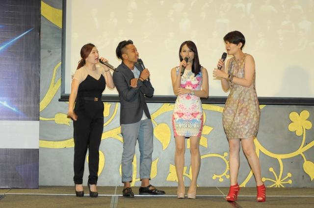Q&A with Non-Drama Category Nominees (L-R) Tiang Kah Chee, Baki Zainal, Natalie Ng, Chiong Pei Pei