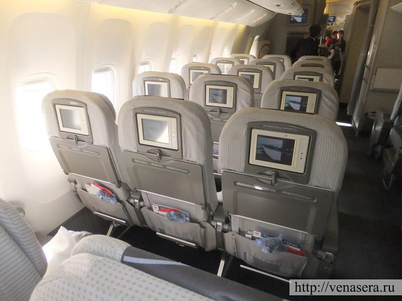 JAL Boeing 777 Токио-Москва