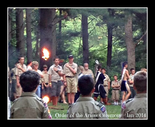 Order of the Arrow Ceremony ~ Ian 2014