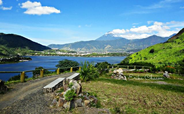 Lago de Amatitlán, Sony DSC-W390