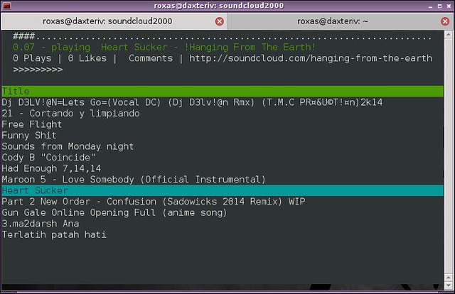 How To Access Soundcloud From The Command Line In Linux