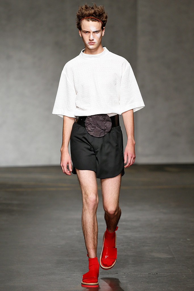 Excellent Male Model SS15 London Xander Zhou
