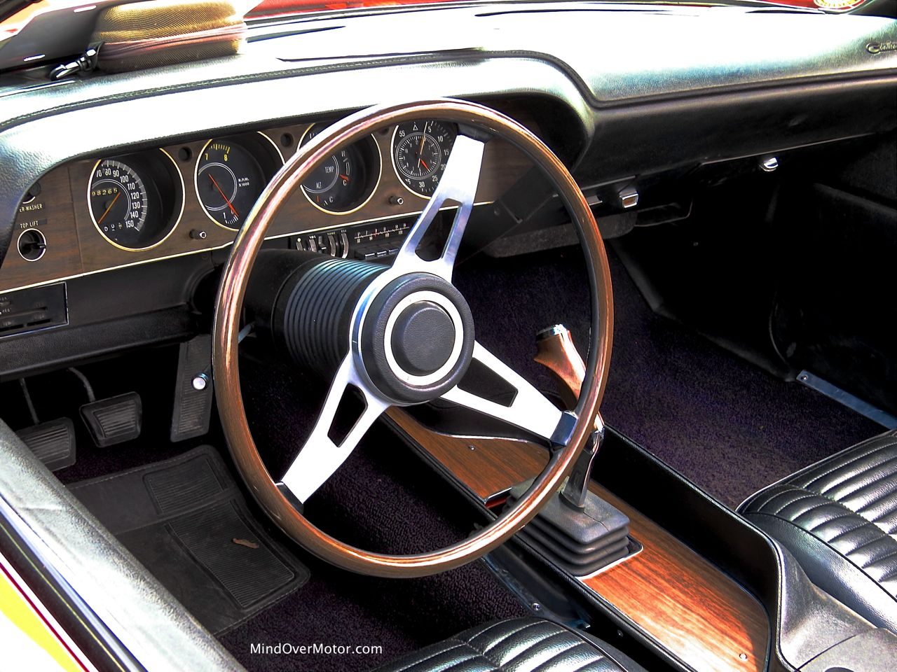 1970 Dodge Challenger R:T Convertible Instrument Panel