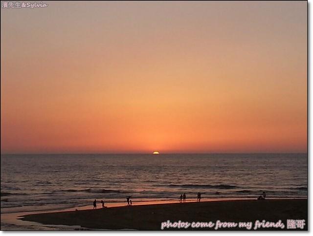 龍鳳漁港夕陽2-錢同事隆哥拍攝
