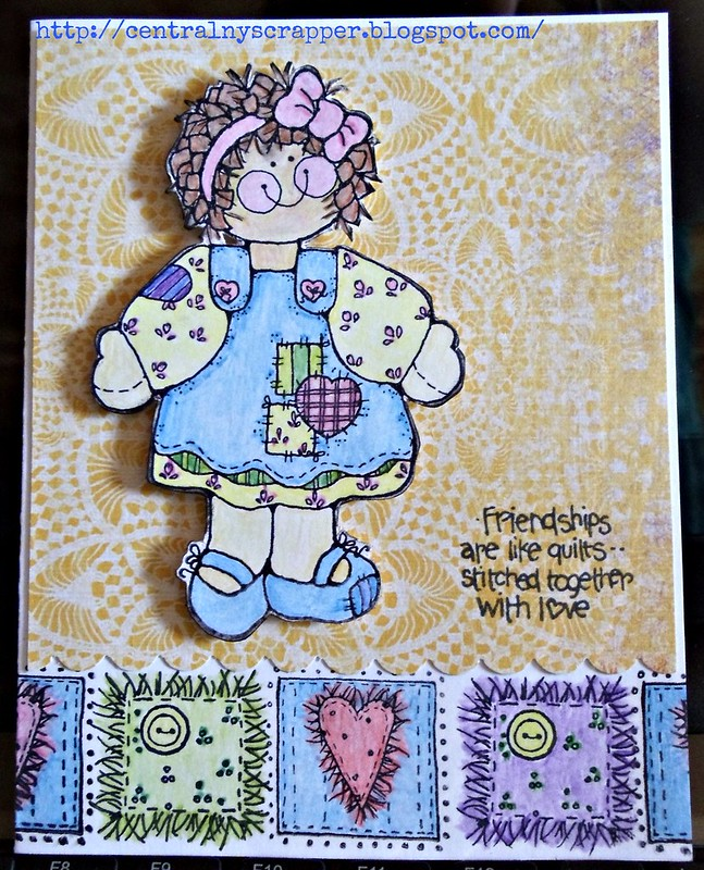 Just Because Stitched With Love