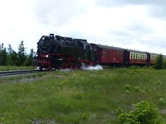 Zug der Brocken-Bahn