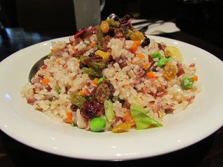 Tropical Fried Rice at Panz Veggie