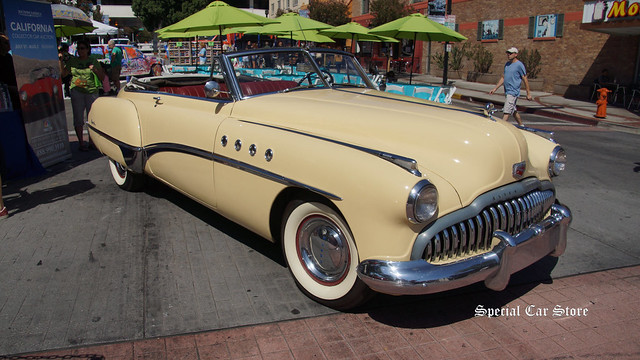 1949 Buick Roadmaster Convertible featured in RAIN MAN movie