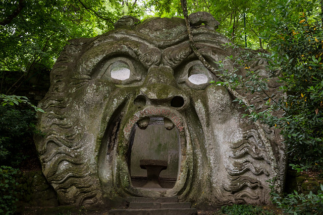 Possessed Ogre (Garden of Bomarzo)