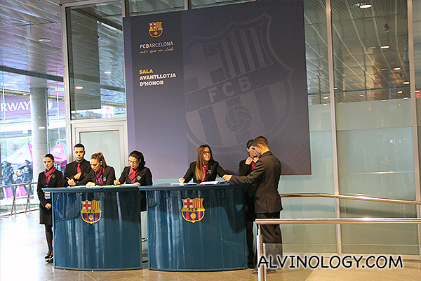 Join the FCB fans club